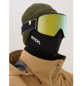 Anon Anon, Mens M4 Cylindrical Goggle with Face Mask and Spare Lens