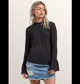 Volcom Volcom, Womens Flomingo Long Sleeve T-Shirt