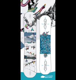 Gnu Gnu Asym Recess BTX snowboard
