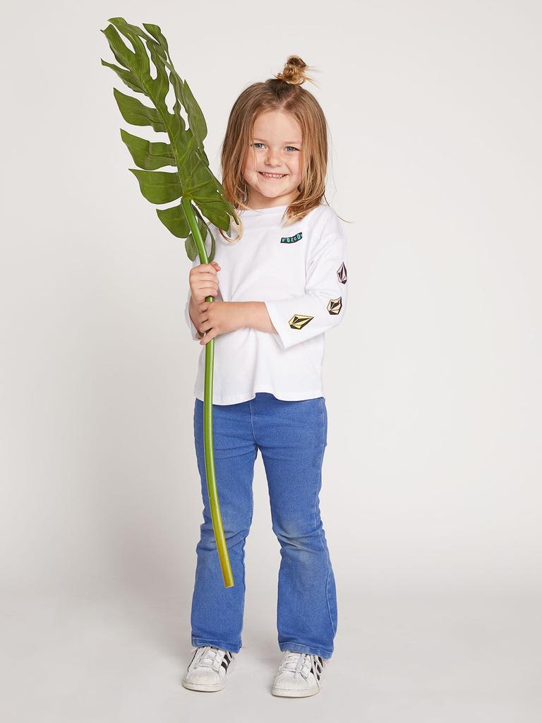 Volcom Volcom, Little Girls, Team Volcom Long Sleeve T-Shirt