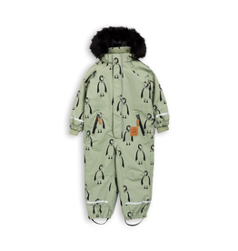 d8fbab85e Mini Rodini, Alaska Panda Baby Overall Onepiece Snow Suit - The Circle