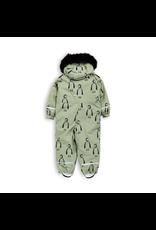 MiniRodini Mini Rodini, Kebenkaise Penguin Overall Onepiece Snow Suit