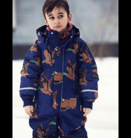 MiniRodini Mini Rodini, Kebnekaise Ducks Overall Onepiece Snow Suit