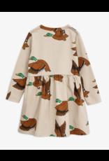 MiniRodini Mini Rodini, Wild Ducks Long Sleeve Dress