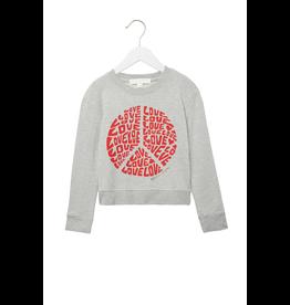 Spiritual Gangster Girls Love Peace Classic Crewneck Sweatshirt