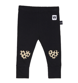 HuxBaby Leopard Heart Leggings
