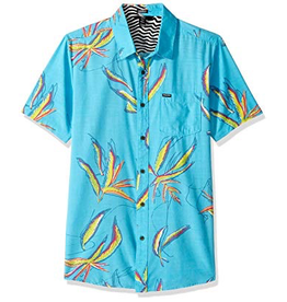 Volcom Boys Motel Floral S/S Button Up Shirt