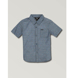 Volcom Youth Boys Mark Mix S/S Button Up Shirt