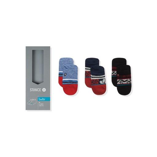 Stance Stance, Infant 3pk Red Tide Socks