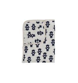 HuxBaby Hux Baby, 100% Organic Cotton Soft Blanket/Wrap