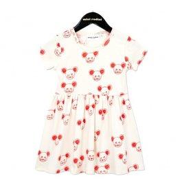 MiniRodini Mini Rodini, Mouse SS Dress