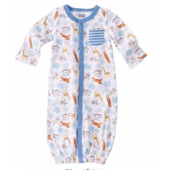 Go Wild Newborn Gown