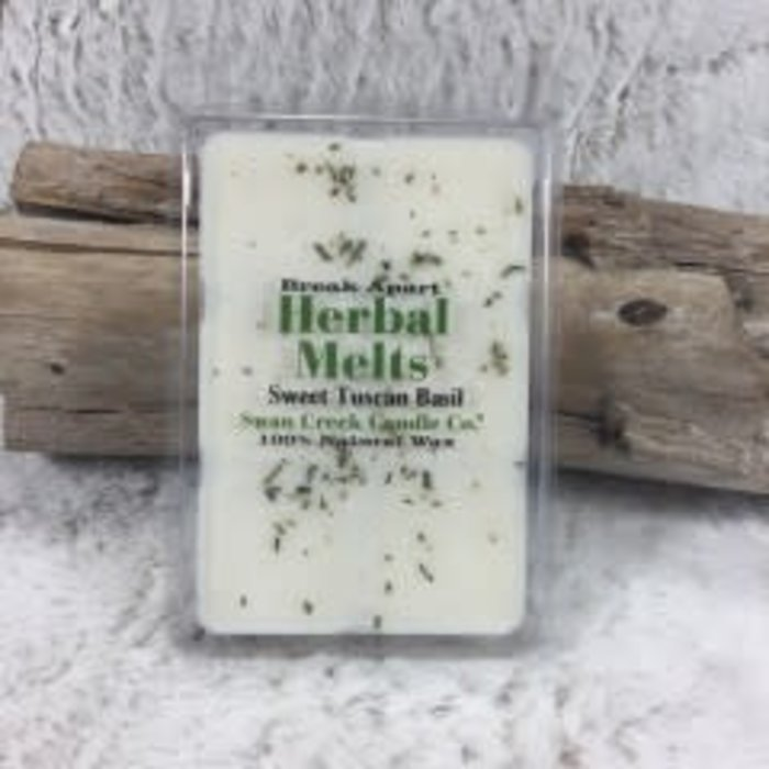Swan Creek Sweet Tuscan Basil Herbal Melts