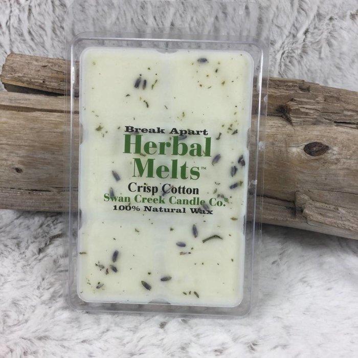 Swan Creek Crisp Cotton Herbal Melts