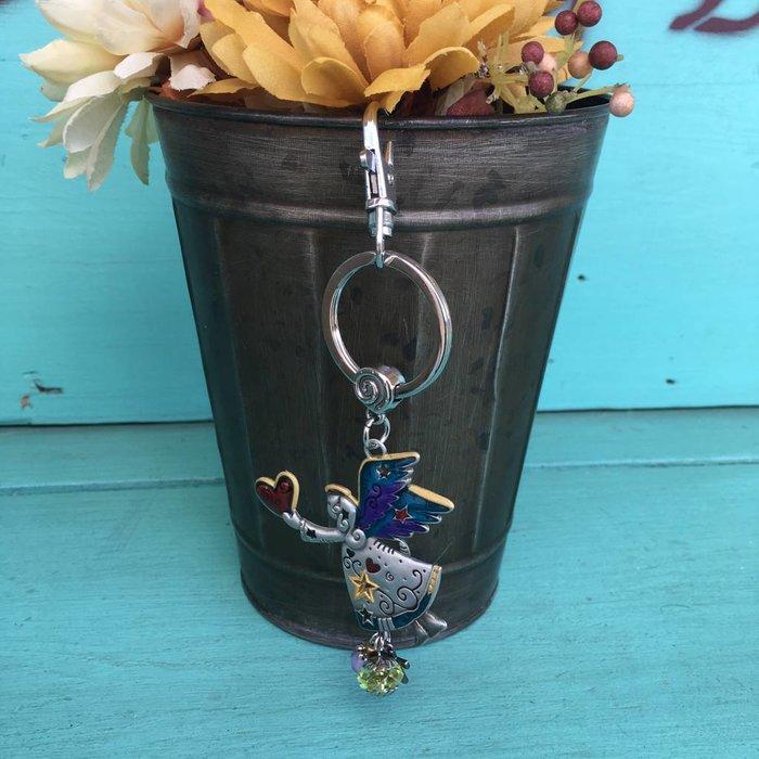 Angel Color Art Key Chain