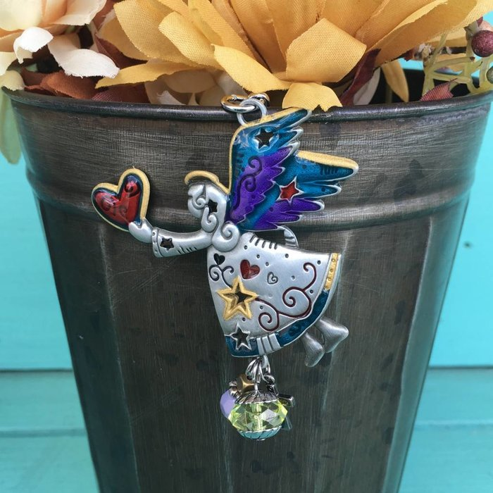 Angel Color Art Key Chain