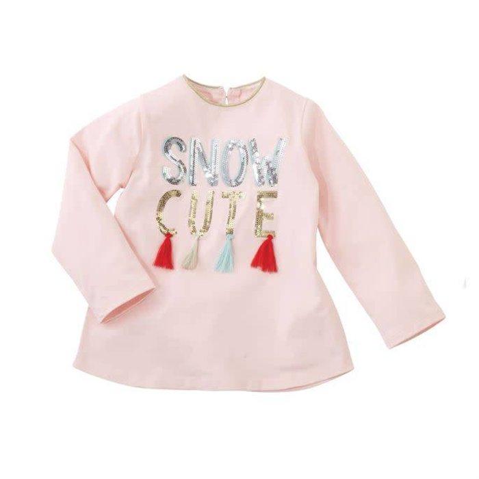 Snow Cute Sequin Tassel Tunic