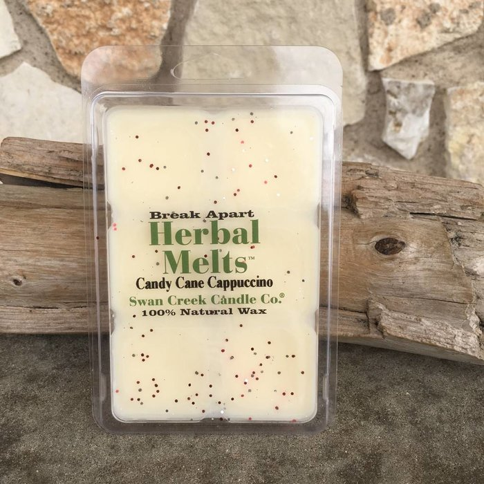 Swan Creek Candy Cane Cappuccino Herbal Melts