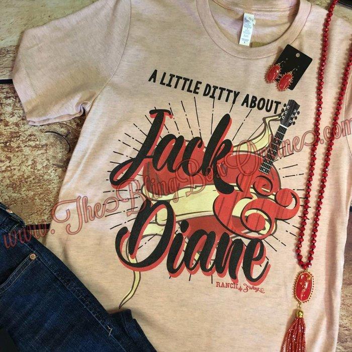 Jack & Diane Crew Neck T-Shirt