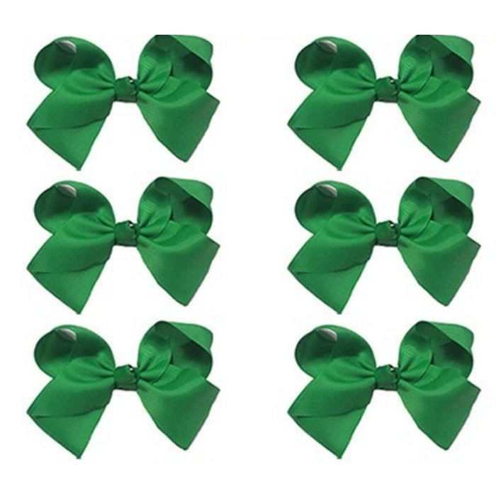 Medium Green Bow
