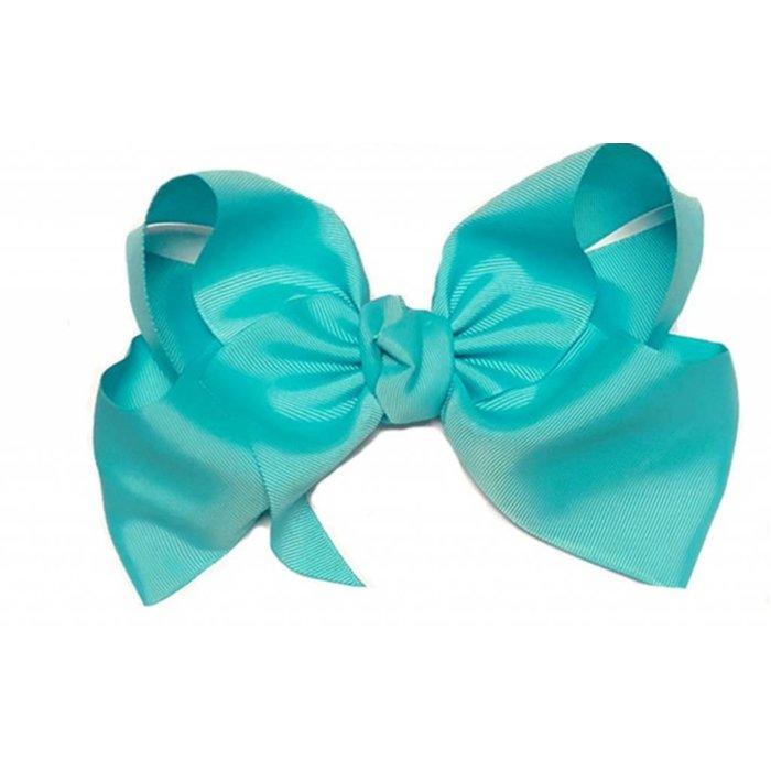 Large Misty Turquoise Bow