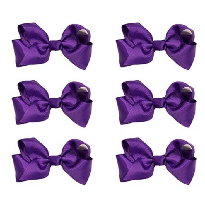 Medium Plum Bow