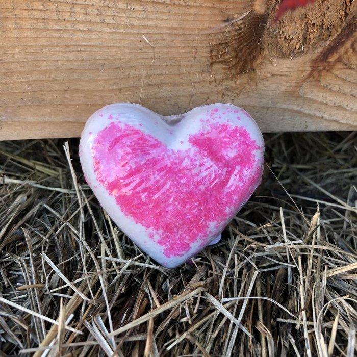 Pink Sprinkle Bath Bomb - Coconut Cream