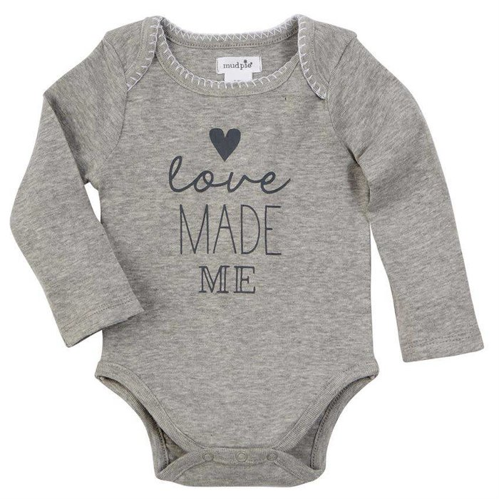 Love Made Me Crawler Onesie 0-6 Mos