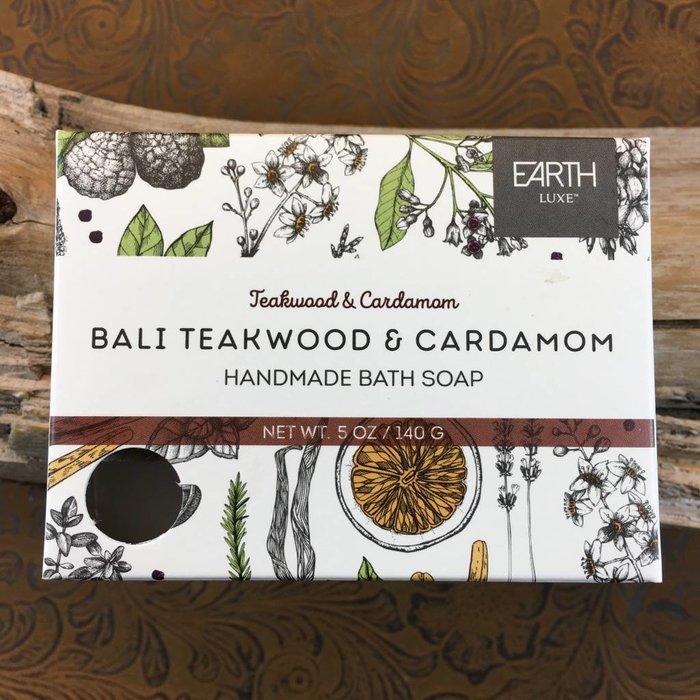 Bali Teakwood & Cardamom Handmade Bath Soap