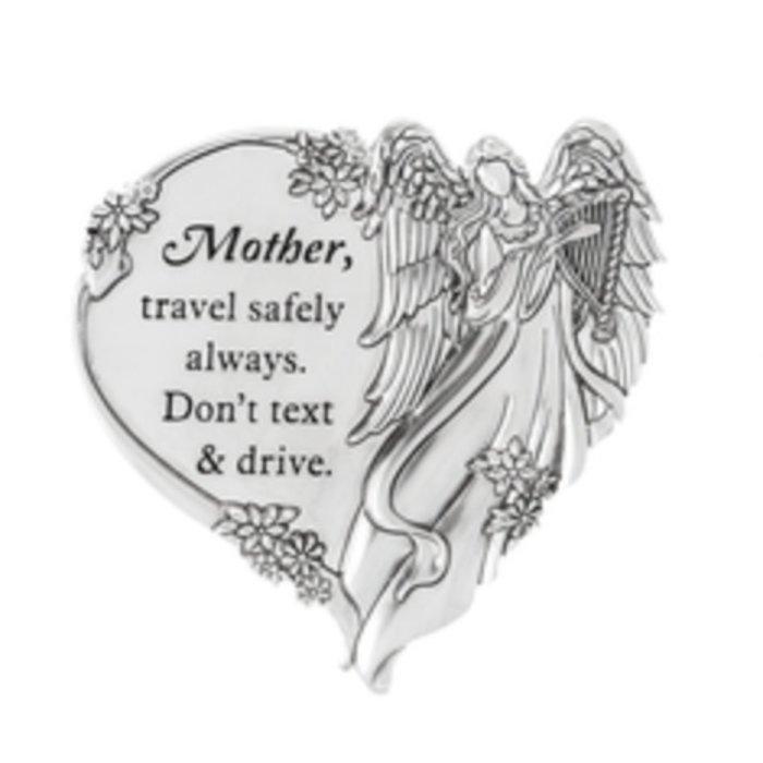 Mother, Travel Safely Swivel Visor Clip