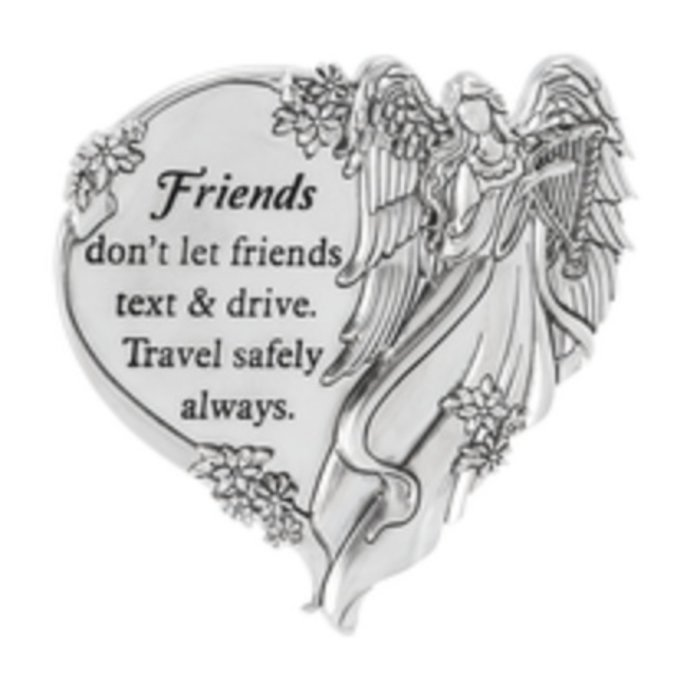 Friends Don't Let Friends Swivel Visor Clip