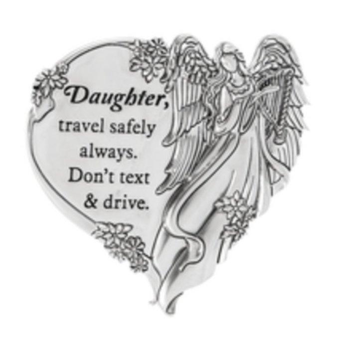Daughter, Travel Safely Swivel Visor Clip
