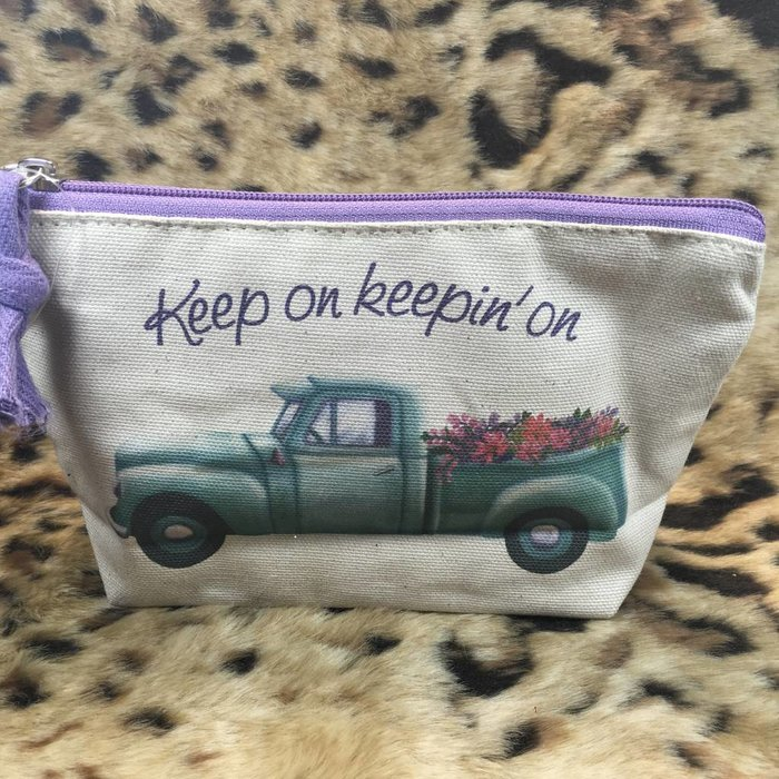 Keep on Keepin on Zipper Bag