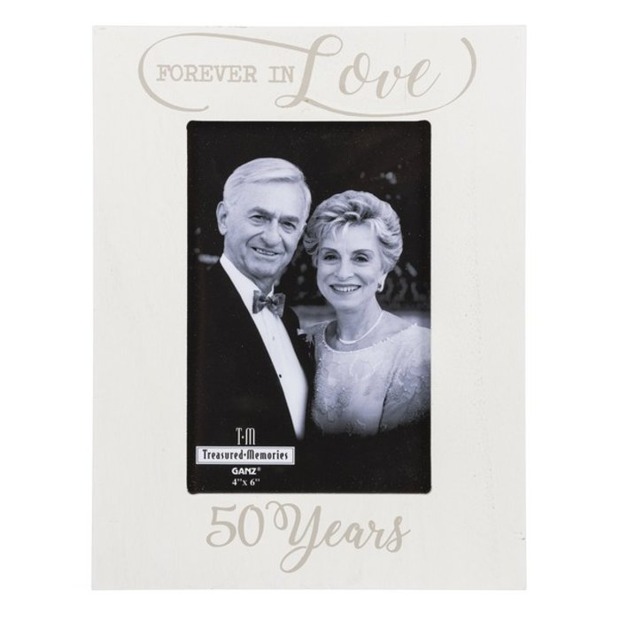 Forever in Love 50 Years Picture Frame
