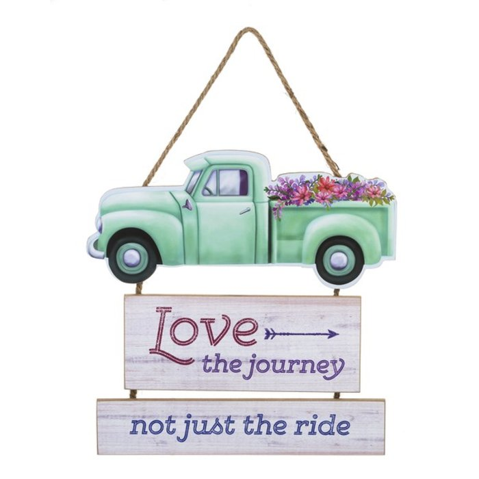 Love the Journey Not Just the Ride Sign