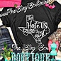 Charcoal Grey They Hate Us Graphic Tee