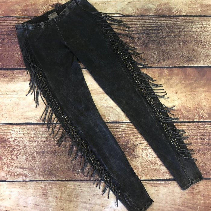Small Vocal Fringe Pants w/Stones