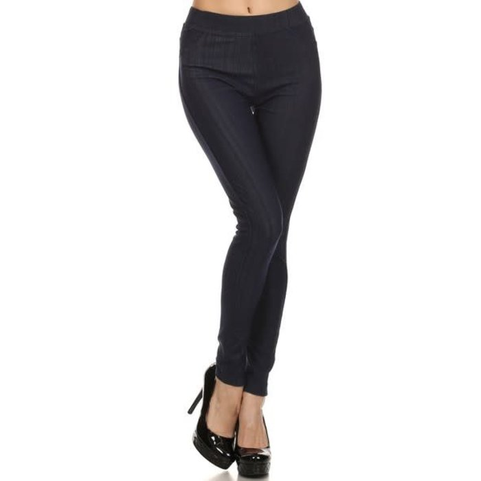 Indigo Jeggings - ONE SIZE MISSES
