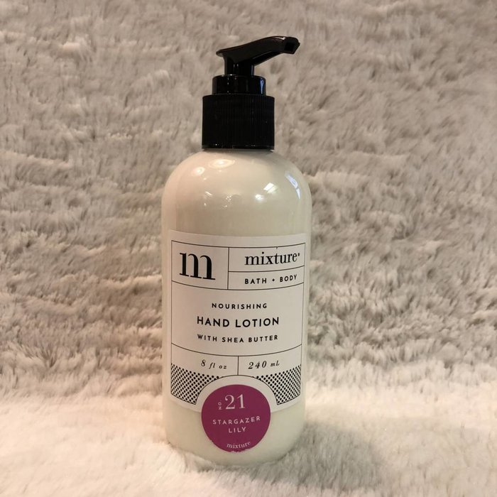 Mixture No 21 Stargazer Lily 8 oz Shea Butter Hand Lotion
