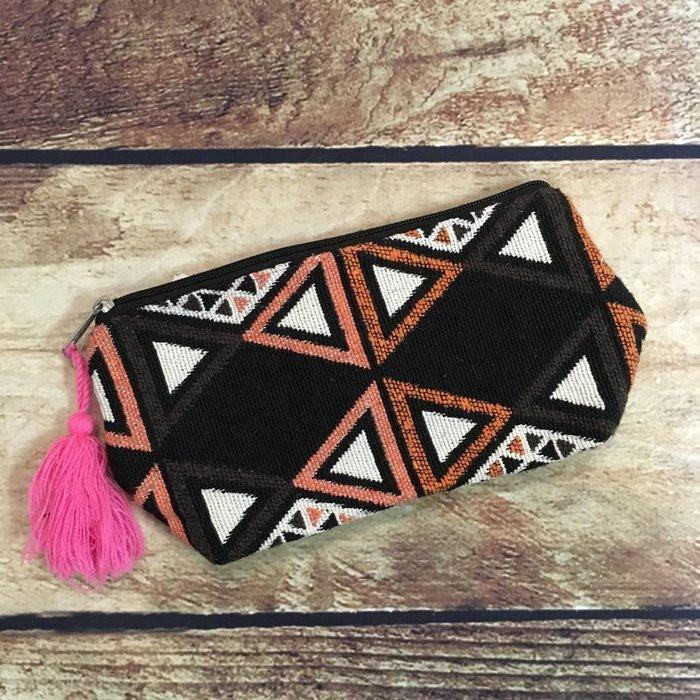 Aztec Cosmetic Bag - C