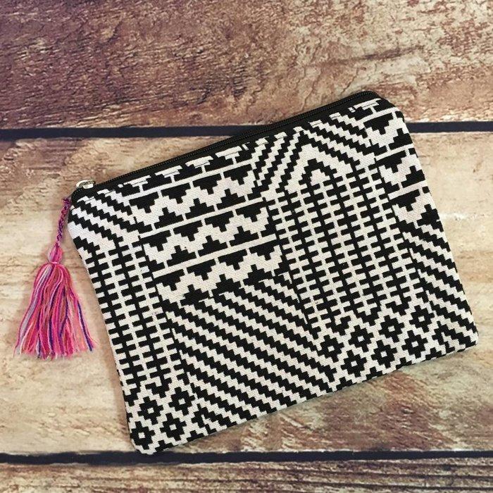 Medium Tapestry Cosmetic Bag - B
