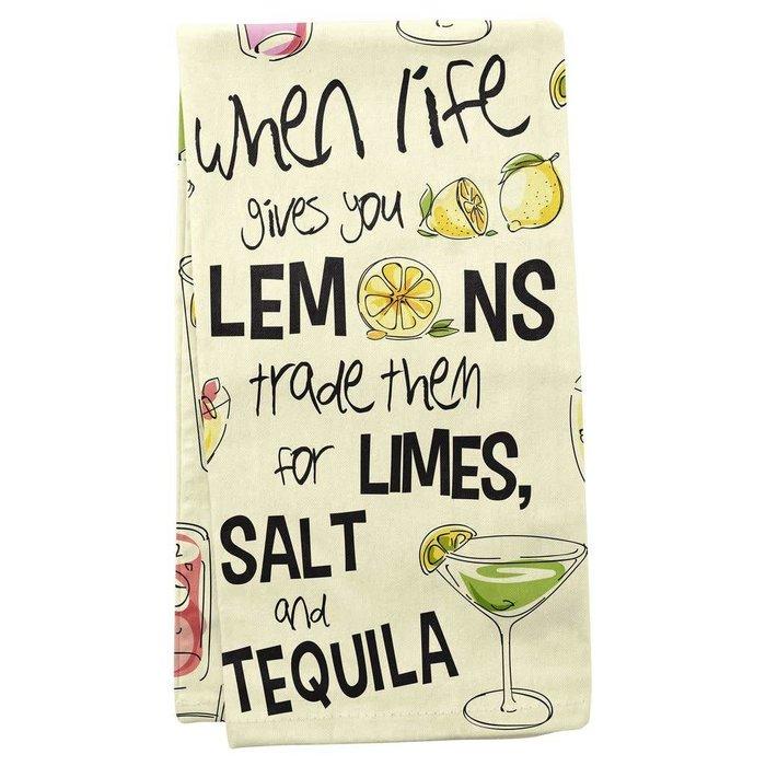Salt Lime Tequila Tea Towel