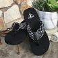 Anaheim - Black Flip Flops