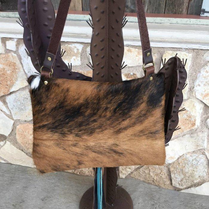 Cowhide Custom LV Satchel Crossbody Bag - C