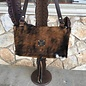 Cowhide Custom LV Satchel Crossbody Bag - C