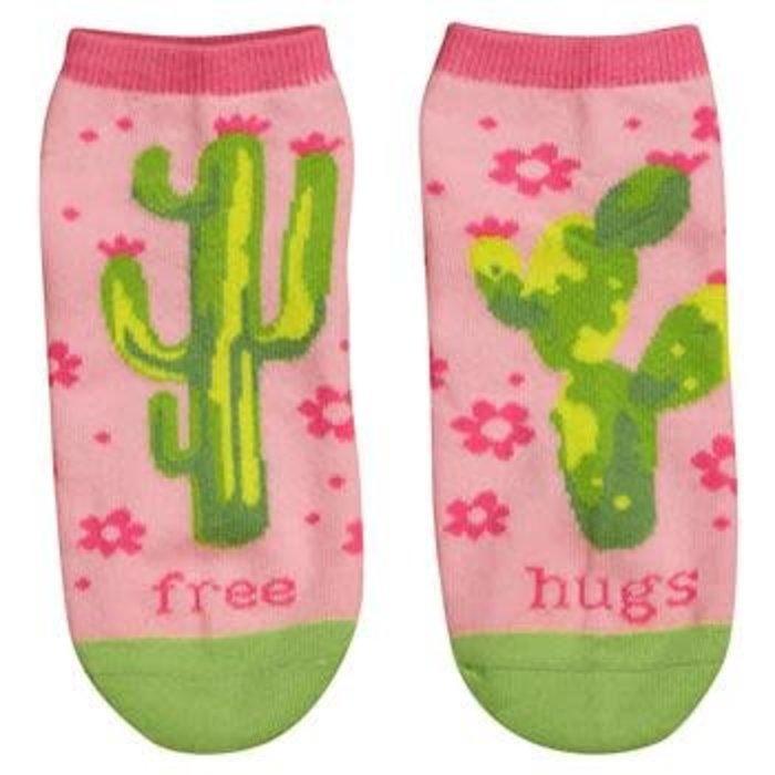 Free Hugs Ankle Crazy Socks
