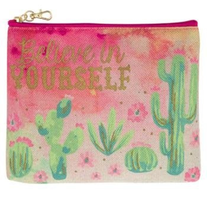 Believe In Yourself Cactus Carry All Bag