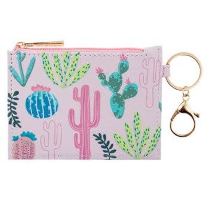 Cactus Zip ID Case