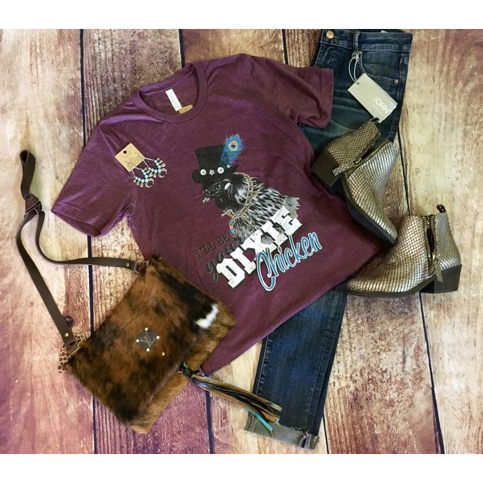 Maroon I'll Be Your Dixie Chicken T-Shirt