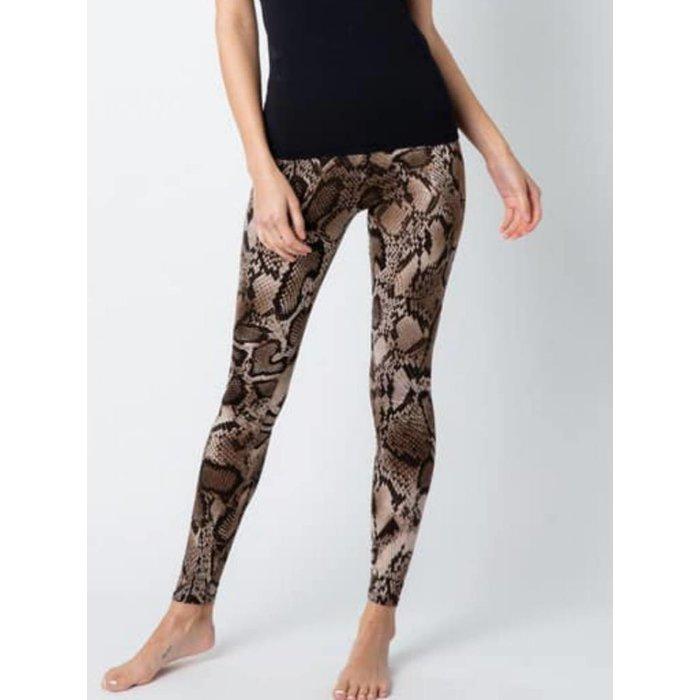 Python Printed Leggings
